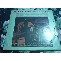 Vinilo Mas Valsecitos Criollos