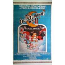 Los Ositos Cariñosos P. 2 0238 Afiche De 1.10 X 0.75