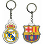 Llaveros Acrílicos Real Madrid, Barcelona, Manchester, Milan