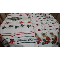 Mantel Navideño Rectang Navidad 2,50x1,40m Polietilen Pesado