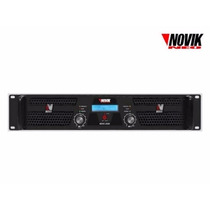 Amplificador De Potencia Novik Novo 2500 Rms 1250w + 1250w
