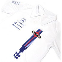 Camisa Pólo Dry Fit - Williams Martini F1 - Es142