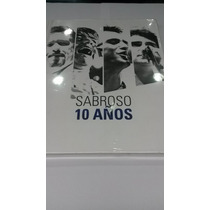 Boxset Sabroso 10 Años 3 Cd+1 Dvd Open Music