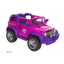 Carro Electrico Montable Jeep My Little Ponny