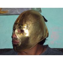 Mascara De Luchador Ramses De Nacho Libre Economica P/adulto