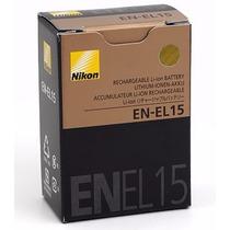 Batería Nikon En-el15 Original D7000 D7100 D600 D800 D800e
