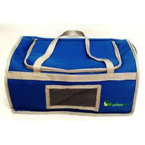 Bolsa De Transporte Primo Pet Para Cabine De Avião - Azul