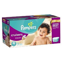 Pampers Cruisers Pañales Paquete Gigante Tamaño 4 112 Conde
