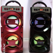 Corneta Speaker Vertical Portatil Bluetooth Fm Aux Usb