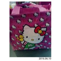 Lonchera Bolso O Carterita De Hello Kitty