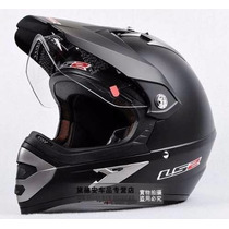 Casco Ls2 Mx433 Cross Enduro Con Visor Single Mono Mate