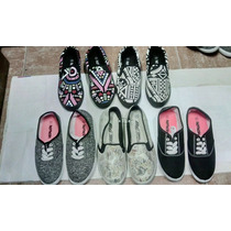Zapatos Tipo Paseo, Vans, Sneakers Toms Keds Para Dama