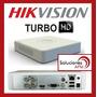 Dvr De 4 Ch Hikvision Turbo Hd Ds-7104hghi-f1 Hd-tvi P2p