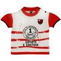 Baby Look Esporte É Energia Meia Malha Menina Flamengo Reve