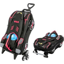 Kit Mochilete + Lancheira Batman, Max Toy 3d