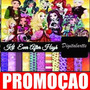 Kit Scraobook Digital - Ever After High - Envio Ultra Rapido