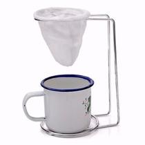 Mini Coador De Café Com Xicara Lindo Individual Nescafe