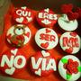 Día De Los Enamorados Cupcakes Y Mini Tortas Para Regalo!