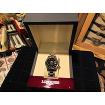 Reloj Longines Conquest Automatico Impecable Cajas Papeles