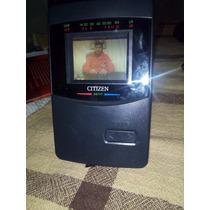 Mini Tv Lcd Ds777 Citizen Colorida- Edição De Colecionador
