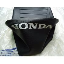 Capa Do Banco Cg 125 77 A 82 Bolinha Reforçada Escrito Honda