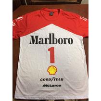 Camisa F1 Mclaren Ayrton Senna Anos 80 - Fórmula 1 - Bicolor