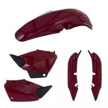 Kit Carenagem P/ Honda Titan Cg 125 Ano 2002 2003 Vermelho