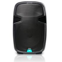 Caixa Som Amplificada 300w Rms Potente Bluetooth Microfone