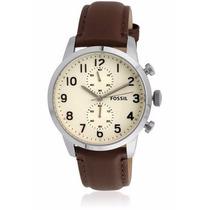 Relógio Fossil Masculino Clássico/elegante Cronógrafo Fs4872