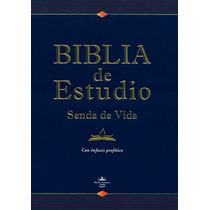 Biblia De Estudio Senda De Vida Con Enfasis Profético Rvr60