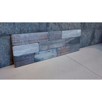 Revestimiento Pared Frente20 X 60 X Mt2 Simil Piedra Varuna