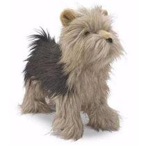 Raza Yorkshire Terrier De Peluche Tamaño Real Envio Gratis!!