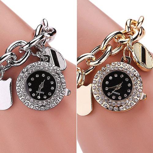 63fdb9a7d606 Reloj Pulsera Analógico Elegante De Moda Mujer Plateado - S  35