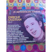 Enrique Guzman Lp 15 Autenticos Éxitos 1960
