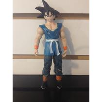 Figura Goku Adulto Maestro, Traje Azúl - Pixel Gamers-