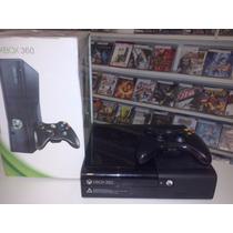 Xbox 360 Super Slim 250gb Com Gta V+3 Jogos Originais+frete