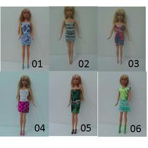 Roupa Da Barbie 1 Peça - Frete Barato Ou Gratis