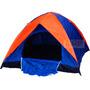 Camping Lluvia Sobre Carpa Iglu Toldo 4 Personas Colchones