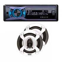 Stereo X-view Ca1000xs Bt Mp3 Usb + Parlantes Speaker Gtz650