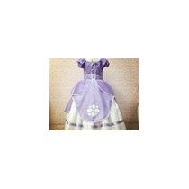 Fantasia/ Vestido Princesa Sofia Super Luxo