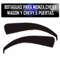 Botaguas Para Monza,chevy 5 Puertas Y Chevy Wagon Delanteros