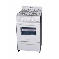 Cocina Blanca Candor Escorial Gas Natural 500 X 500 X 850 Mm