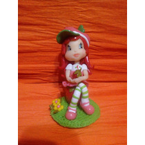 Souvenirs Frutillita En Porcelana Fria!!