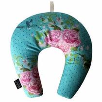 Almofada Travesseiro De Pescoço Pássaros Logo Artesania