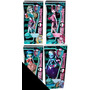 Monster High Skull Shores Serie De 4 Muñecas Diferentes