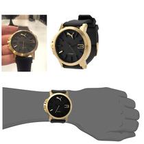 Relógio Original Puma Dourado Ultrasize Frete Grátis
