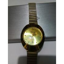Reloj Rado Jubile Dorado Con Diamantes Envio Gratis