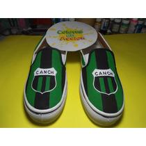 Zapatillas Panchas Nueva Chicago