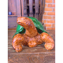 Original Tortuga Muy Grande Estilo Antiguo. Ideal Jardin.