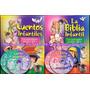 Oferta : Libros Cuentos Y Biblia Infantil Oceano 2 Tms